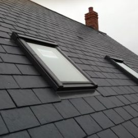 Eaton Bray – New Build Roof